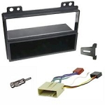 Ford Fiesta (Triple Dash) Car Stereo Fitting Kit Fascia Panel, Wiring, Aerial
